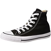 Converse Unisex's Black Sneakers - 6 UK/India (39 EU)