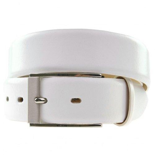 LLOYD Leder-Gürtel weiß, Länge:100 cm