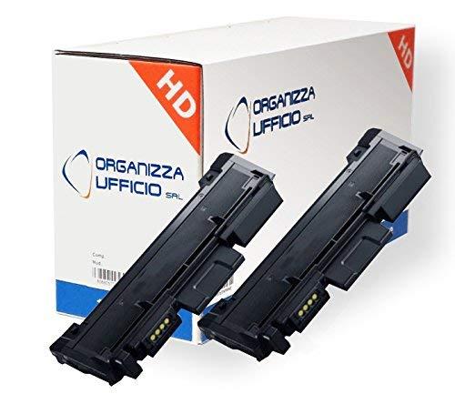 Organizza Ufficio 2X Toner O-MLT-D116L per Xpress M2625, M2625D, M2675F, M2675FN, M2675N, M2825ND, M2825DW, M2875FD, M2875FW, M2875ND, Nero Durata: 3.000 Pagine cad.