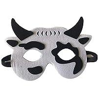 Li_unmio Máscaras Decorativas Lindas de la Moda y del Ambiente de los niños Animales de los niños máscara Decorativa Linda (J)