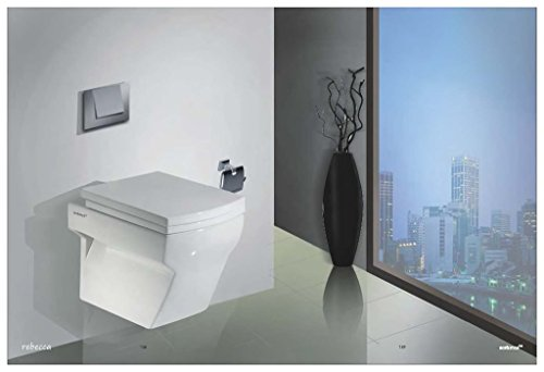 Sestones Rebecca Wall Hung Water Closet (Size 480X350X420 Mm )