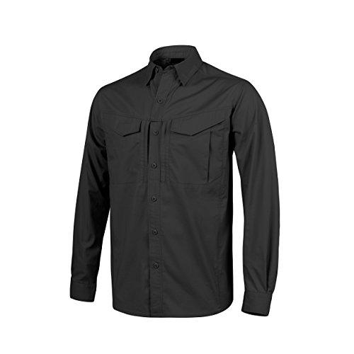 Helikon-Tex Defender Mk2 Long Sleeve Shirt Schwarz
