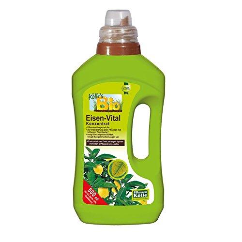 Bio Eisen-Vital 500 ml, Pflegemittel mit viel Eisen in Bio-Qualität, Pflanzenpflegemittel, biologisch, Kölle's Bio Eisen-Vital -