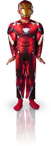 Ironman Kostüm Kid - Marvel - i-620677l - Kostüm Luxe - Civil War - Iron Man - Größe L
