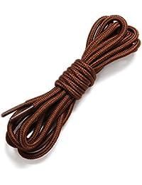 Jiayiqi Cordones Redondos Para Calzado Deportivo Botas Zapatillas De 0.5-1,8 M De Longitud 16 Colores