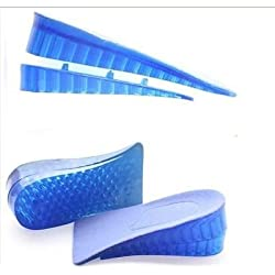 Aeoss 1 Pair Men Women Orthopedic Height Increase Insoles Massaging 1 - Blue