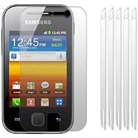Protector de pantalla - SODIAL(R) 6 paquetes Protector de pantalla LCD para Samsung S5360 Galaxy