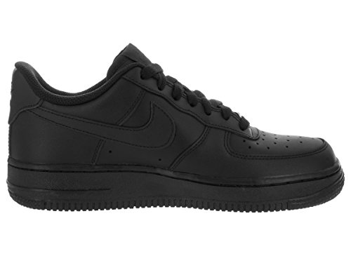 Nike Wmns Air Force 1 '07 Scarpe da Basketball, Donna Nero (Black/Black 038)