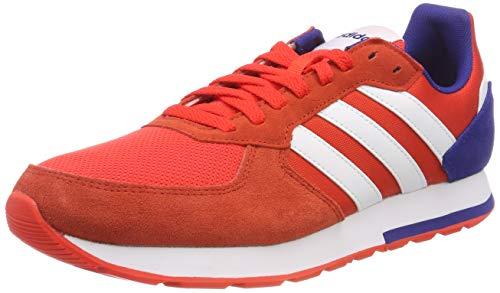 hot sale online be1f7 9693b adidas 8k, Zapatillas de Gimnasia para Hombre, Rojo (Hi-Res Red S18