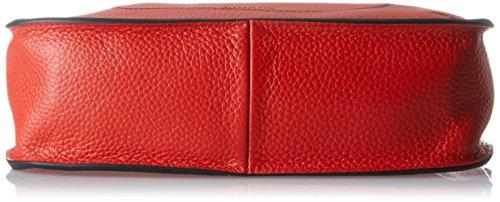 Cinque - Adelia, Borsa a tracolla Donna Rosso (Rot)