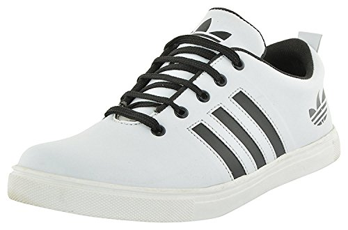 Lamara Men's White Casual Sneaker Shoes