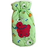 Squnibee New Born Baby Feeding Cotton Bottle Cover With Soft & Attractive Fancy Print & Design/New Born Baby Feeder Cartoon Print Cover/Fancy Bottle Feeder Cover