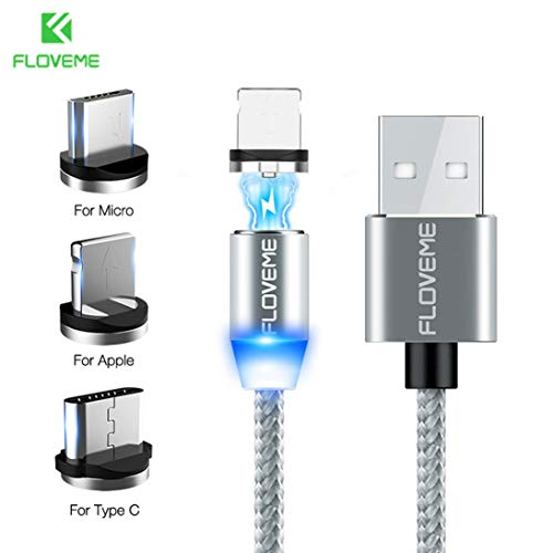 90e08eda27f923 Togames-ES Magnetic Data Cable is Suitable for Apple Android Type-C Mobile  Phone