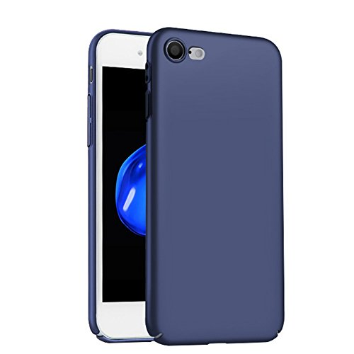 Hosaire 1x Handyhülle Schalen für Apple iphone 7 Phone Case Apple Schutzhülle Phone Back Cover Hartschale Shell Fall Blau