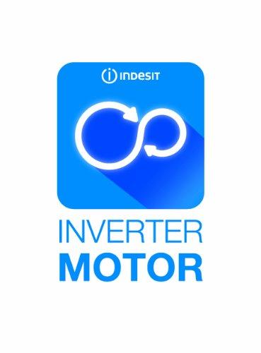 Indesit EWD 71483 W DE Waschmaschine FL / 174 kWh / 1400 UpM / 7 kg / 10840 Liter / MyTime, Schneller als 1 Stunde / Inverter-Motor / leise nur 54 db / Wasserstopp / weiß - 6