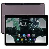 10-Zoll-Android 8.0-Tablet, 6 GB RAM, 64 GB Speichertablett, Deca-Core-Entriegelungstablett für 4 G-Telefone, WLAN, GPS, Bluetooth 4.0, 1920 x 1200 HD IPS-Bildschirmanzeige (Schwarz)
