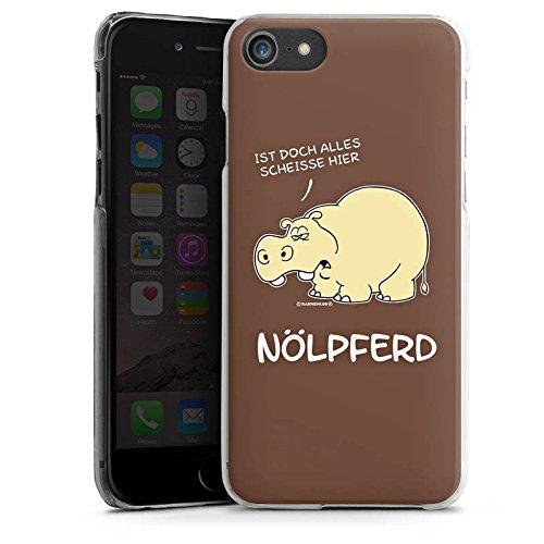 Apple iPhone 6 Silikon Hülle Case Schutzhülle Nilpferd Lustig Nölpferd Hard Case transparent