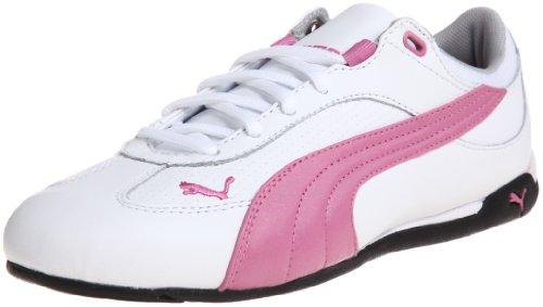 Puma, Fast Cat LEA Wn`s, Scarpe sportive, Donna Bianco - Rosa