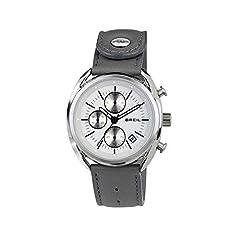 Idea Regalo - Breil Orologio Cronografo Quarzo Uomo con Cinturino in Pelle TW1526