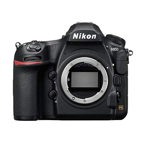 Nikon D850 SD1 - Cámara Digital de 45.7 MP (LCD de 3.2'', 4K UHD, 153 Puntos de Enfoque, 9 FPS) Negro