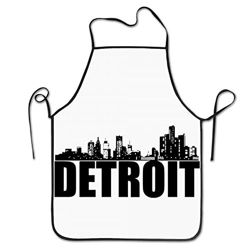 SDFGSE Detroit Motor City Great Lakes Tiger Cool Apron Cute Aprons