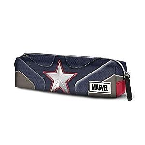 Karactermania Captain America Suit-astuccio Portatutto Quadrato HS Estuches 22 Centimeters Multicolor (Multicolour)