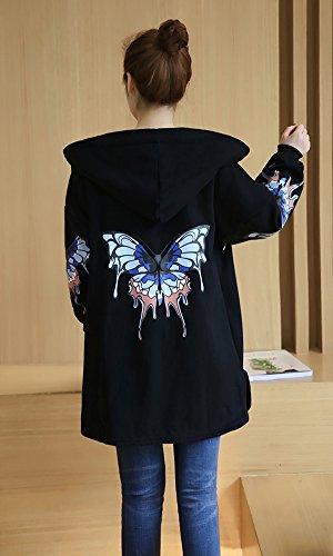 LifeWheel - Manteau - Femme 02:Black(Butterfly)