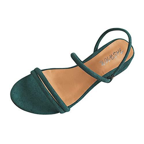 VECDY Damen Sandalen Frauen Plattform Dicken Sommer Open Toe Schuhe Roman Casual Flock Sandalen Turnschuhe Hausschuhe 35-39 Jordan Womens Sweatshirt