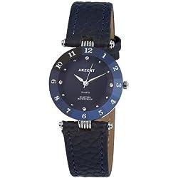 Akzent Damen-Uhren mit Polyurethan Lederband SS7323000014