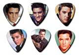 Elvis Presley Set of 6 Loose Gitarre Plektrum Plektron Picks ( Collection D )