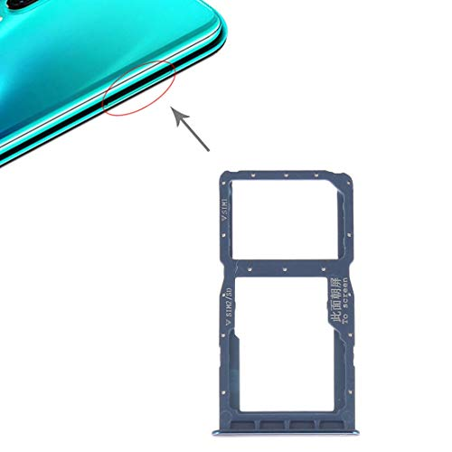 COMPATIBILE PER Huawei P30 Lite MAR-LX2 2019 Try tray Vassoio (BLU \ BLUE) alloggio porta scheda Dual SIM Card Sim 1 + SLOT SIM 2 o slitta per lettore Memoria Micro Sd