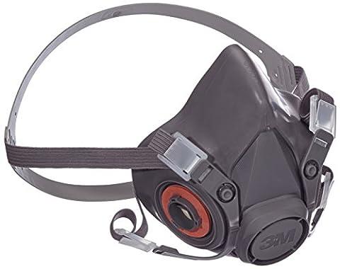 3M Reusable Half Face Mask Respirator 6300 - Large