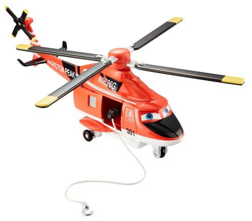 Mattel BDC00 Disney Planes 2 Die-Cast Deluxe Blade Ranger, Scala 1:55
