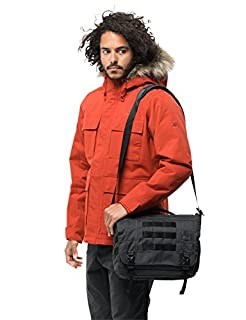 Jack Wolfskin Unisex Adults' TRT Field Shoulder Bag, Phantom, One Size (B07DQQ4QY8) | Amazon price tracker / tracking, Amazon price history charts, Amazon price watches, Amazon price drop alerts