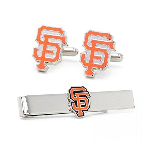 San Francisco Giants Manschettenknöpfe und Krawatte Bar Geschenk-Set