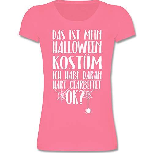 Anlässe Kinder - Das ist Mein Halloween Kostüm - 116 (5-6 Jahre) - Rosa - F131K - Mädchen Kinder ()