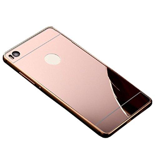 malloomr-pour-huawei-ascend-p8-lite-aluminium-metallique-cas-de-retour-pc-couvercle-or-rose