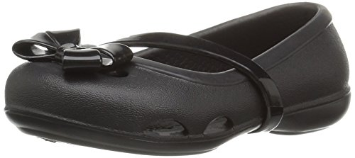 Crocs Girls Lina K Closed Toe Ballet Flats
