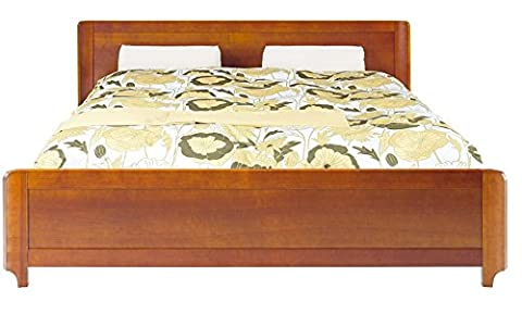ALEVIL Cherry Bed With Frame Headboard Modern High Quality