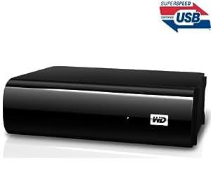 WD My Book AV-TV WDBGLG0010HBK - 1 To - noir - MediaPlayer avec disque dur