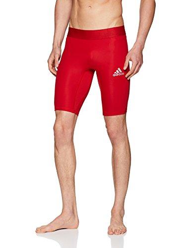 funktionsunterwaesche adidas adidas Herren Alphaskin Sport Kurze Tights, Power Red, M