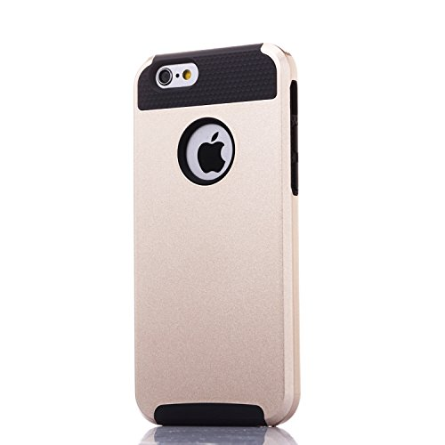 Coque de protection pour iPhone 6S, noir, iPhone 6S/iPhone 6 Black and Gold
