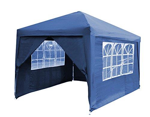 Primrose Seitenwände und Tür für Budget Stahl 3m x 3m Pavillon faltbar, blau