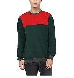 Yepme Mens Multicoloured Poly Cotton Sweatshirts - YPMSWEAT0285_S