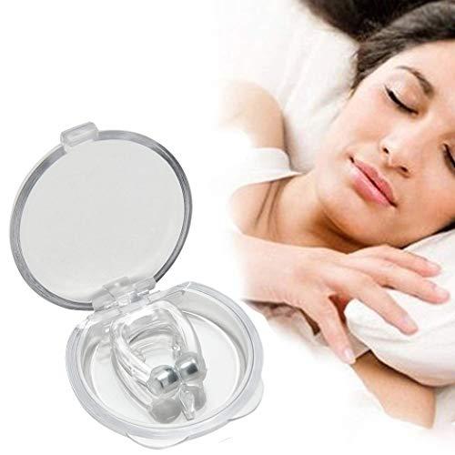 Anti Schnarch Hilfe Premium Anti Schnarch Nase Clip Schlafhilfe Verhindern Trockenen Mund Helfen Atmung Nasenclip Clip magnetisch Snore Free