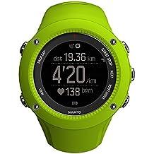 Suunto Ambit3 Run Lime - Reloj de carrera GPS, unisex, para adultos, color verde limón