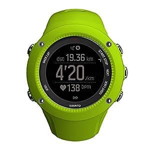 Suunto SS021260000 AMBIT3 Run Running GPS Watch, Standard (Lime)