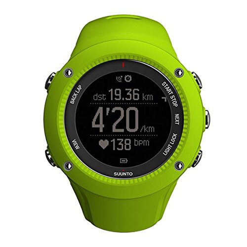 SUUNTO Ambit3 Run Lime Reloj de Carrera GPS