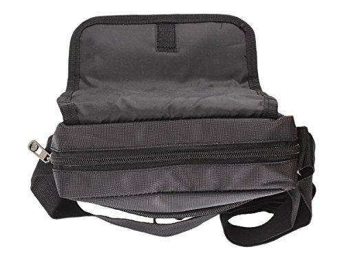 Sleek in Nylon Unisex da viaggio, con aletta sul lavoro misto marrone 2554 Blu