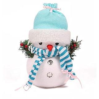 AIHOME Kinder Schneemann Puppe Aufbewahrungsbox Spielzeug Tasche Tischdeko